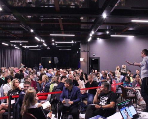 16 и 17 сентября в Киеве прошел живой авторский курс Ицхака Пинтосевича «Профессиональный Оратор»